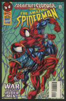 "Stan Lee Signed 1996 ""The Amazing Spiderman"" Issue #404 Marvel Comic Book (Lee COA)"