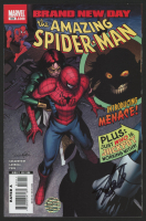 """Stan Lee Signed 2008 """"The Amazing Spiderman"""" Issue #550 Marvel Comic Book (Lee COA)"""