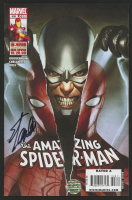"Stan Lee Signed 2009 ""The Amazing Spiderman"" Issue #608 Marvel Comic Book (Lee COA) at PristineAuction.com"