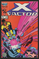 """Stan Lee Signed 1987 """"X-Factor"""" Issue #14 Marvel Comic Book (Lee COA)"""