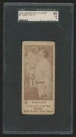 1928 Babe Ruth Candy Company E-Unc. #5 Babe Ruth (SGC 3)