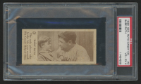 1928 Babe Ruth Candy Company E-Unc. #3 Babe Ruth (PSA 4) at PristineAuction.com