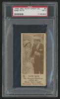 1928 Babe Ruth Candy Company E-Unc. #4 Babe Ruth (PSA 3)