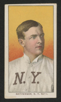 1909-11 T206 #308 Christy Mathewson / Portrait