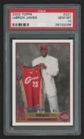 2003-04 Topps #221 Lebron James RC (PSA 10)