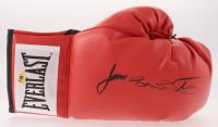 Buster Douglas Signed Everlast Boxing Glove (MAB Hologram)