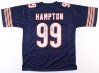 "Dan Hampton Signed Chicago Bears Jersey Inscribed ""HOF 2002"" (Beckett COA) at PristineAuction.com"