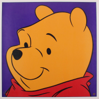 """Lot of (2) """"Winnie The Pooh"""" LE 1997 Walt Disney 23.5x23.5 Lithographs with Tigger & Pooh at PristineAuction.com"""
