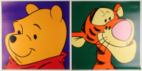 "Lot of (2) ""Winnie The Pooh"" LE 1997 Walt Disney 23.5x23.5 Lithographs with Tigger & Pooh at PristineAuction.com"