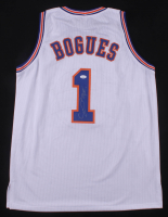 """Muggsy Bogues Signed """"Space Jam"""" Tune Squad Jersey (JSA COA)"""