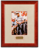 Ben Hogan Signed 14.5x18.5 Custom Framed Photo Display (JSA LOA)