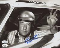 "Rex White Signed 8x10 NASCAR Photo Inscribed ""2015 HOF"" (JSA COA)"