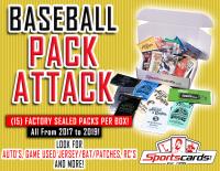 """BASEBALL PACK ATTACK"" – (15) Factory Sealed Packs Per Box!"