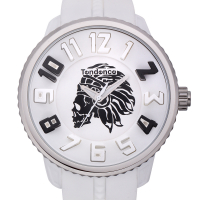 Tendence Round Gulliver 3 Indian Skull Men's Watch at PristineAuction.com