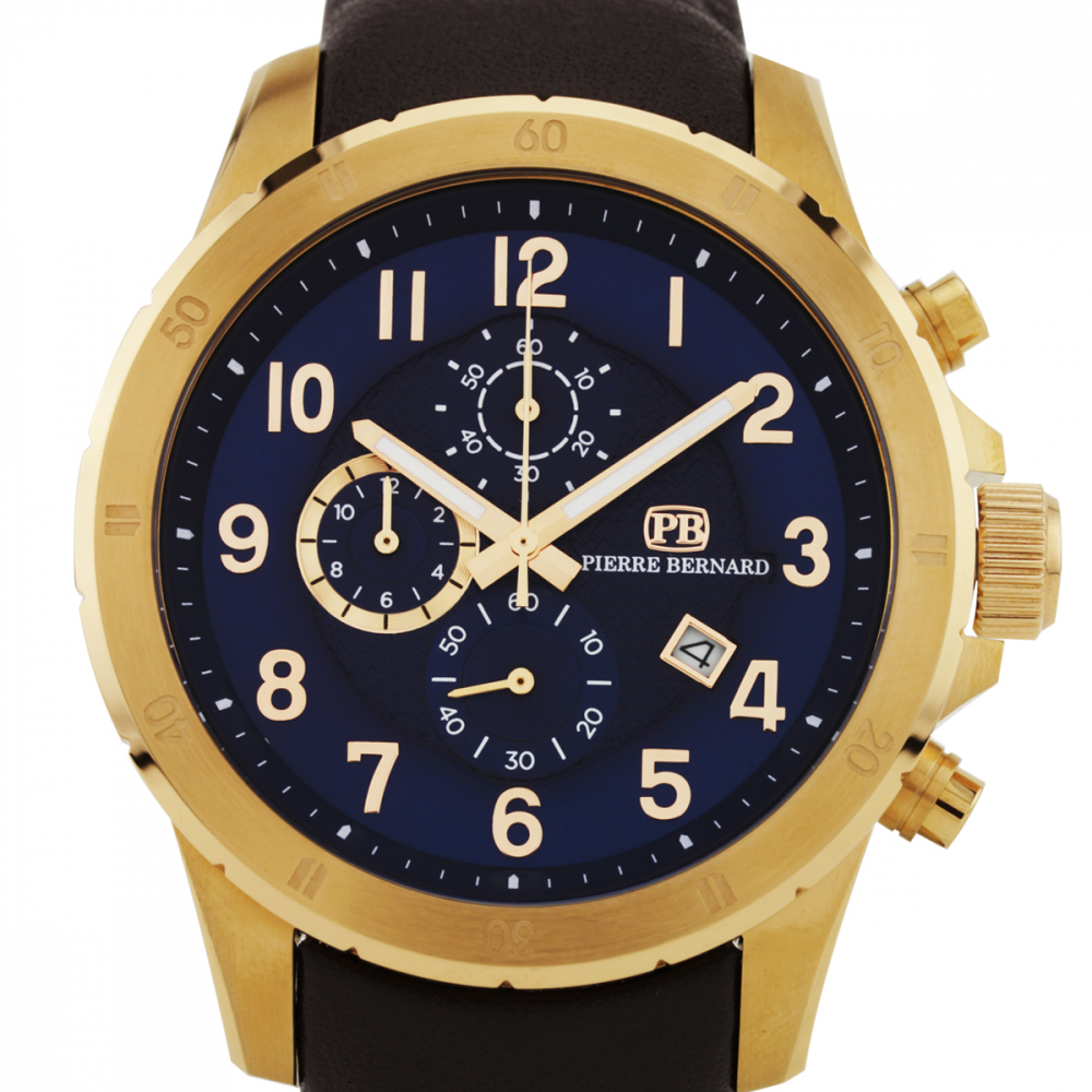 Pierre Bernard Macallan Men's Chronograph Watch at PristineAuction.com