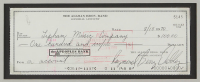 Duane Allman & Berry Oakley SIgned 25.5x27.75 Custom Framed Check Display (Beckett LOA) at PristineAuction.com