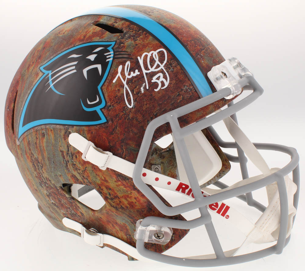 Autographs-original Luke Kuechly Autographed Signed Carolina Panthers Football Ball Jsa Coa Sports Mem, Cards & Fan Shop