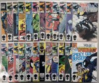 """Lot of (52) 1985-1989 Marvel """"Web of Spider-Man"""" Comic Books with 1st Series #1-50 & Annual #1 & #3"""