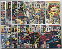 "Lot of (37) 1976-1979 Marvel ""Spectacular Spider-Man"" 1st Series Comic Books #1-37"