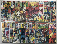 """Lot of (37) 1976-1979 Marvel """"Spectacular Spider-Man"""" 1st Series Comic Books #1-37 at PristineAuction.com"""