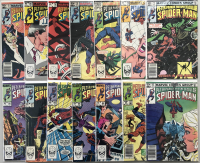 "Lot of (14) 1982-1984 Marvel ""Spectacular Spider-Man"" 1st Series Comic Books at PristineAuction.com"
