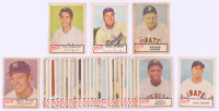 1954 Dan-Dee Complete Set of (29) Baseball Cards with #17 Mickey Mantle, #24 Duke Snider, #23 Paul Smith, #19 Phil Rizzuto, & #3 Walker Cooper
