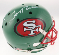Jerry Rice Signed San Francisco 49ers Full-Size Helmet (JSA COA)