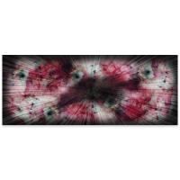 """Warm Nebula 60"" 1x24x60 Original Abstract Art by Helena Martin at PristineAuction.com"
