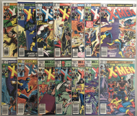 "Lot of (14) 1980 Marvel ""Uncanny X-Men"" 1st Series Comic Books with #142-155"