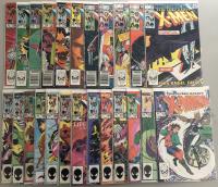 "Lot of (47) 1977-1979 Marvel ""Uncanny X-Men"" 1st Series Comic Books #169-216"