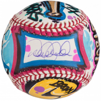 Derek Jeter Signed Hand-Painted Cope2 Graffiti Baseball (Steiner COA)