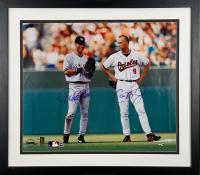 Derek Jeter & Cal Ripken Jr. Signed 20x24 Custom Framed Photo (JSA LOA & MLB Hologram)