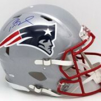 Tom Brady Signed New England Patriots Full-Size Authentic On-Field Speed Helmet (TriStar Hologram)
