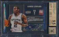 2012-13 Elite Rookie Inscriptions #43 Kawhi Leonard (BGS 9.5)