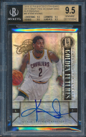 2011-12 Panini Gold Standard 2011 Draft Pick Redemptions Autographs #KI Kyrie Irving RC (BGS 9.5) at PristineAuction.com
