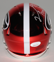 Leonard Floyd Signed Georgia Bulldogs Chrome Speed Mini Helmet (JSA COA) at PristineAuction.com