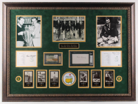 """First Five Masters Champions"" 40.25x30 Custom Framed Golf Display Signed by (5) with Byron Nelson, Henry Picard, Gene Sarazen, Ralph Guldahl & Horton Smith (JSA COA, Beckett COA & JSA LOA)"