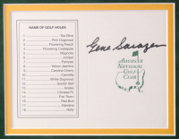 """First Five Masters Champions"" 40.25x30 Custom Framed Golf Display Signed by (5) with Byron Nelson, Henry Picard, Gene Sarazen, Ralph Guldahl & Horton Smith (JSA COA, Beckett COA & JSA LOA) at PristineAuction.com"