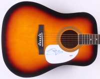 """Billy Joel Signed 41"""" Acoustic Guitar (PSA COA) at PristineAuction.com"""