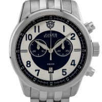 Jules Breting Geidi Prime Men's Swiss Chronograph Watch at PristineAuction.com