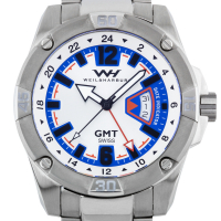 Weil & Harburg Leade Men's Swiss-Made GMT Watch at PristineAuction.com