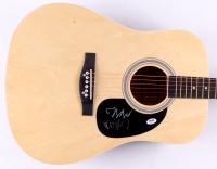 "Seth Avett & Scott Avett Signed 41"" Huntington Acoustic Guitar (PSA COA) at PristineAuction.com"