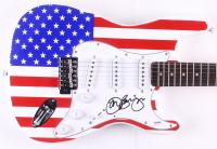 """Bon Jovi Signed Huntington 39"""" Electric Guitar (PSA COA)"""