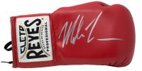 Mike Tyson Signed Cleto Reyes Boxing Glove (JSA COA)