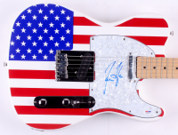 "James Taylor Signed 39"" Huntington Electric Guitar (PSA COA) at PristineAuction.com"