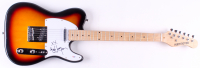 "Cyndi Lauper Signed 40"" Huntington Electric Guitar (PSA Hologram) at PristineAuction.com"
