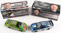 Lot of (2) Dale Earnhardt Jr. 1:24 Scale Die-Cast Cars with (1) Signed #88 Nationwide Insurance 2016 SS Liquid Color & (1) #88 Mountain Dew 2017 SS (Earnhardt Hologram)