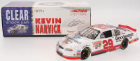 LE Kevin Harvick NASCAR #29 GM Goodwrench Service Plus 2001 Monte Carlo Clear Car 1:24 - Scale Die-Cast Stock Car