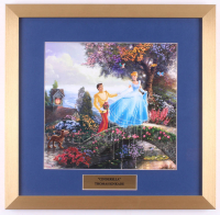 "Thomas Kinkade Walt Disney's ""Cinderella"" 17.5x18 Custom Framed Print"