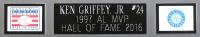 Ken Griffey Jr. Signed 35x43 Custom Framed Jersey (Beckett COA & TriStar Hologram) at PristineAuction.com